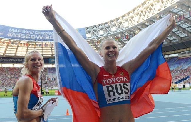 Kseniya Ryzhova and Tatyana Firova
