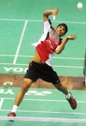 K Srikanth (Awadhe Warriors) Vs B Sai Praneeth (Delhi Smashers)