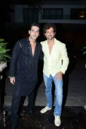 Zayed, Hrithik at Zarine Khan