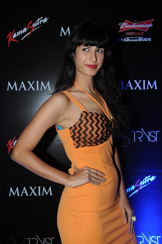Sonia Birje at the launch of Ameesha Patel's cover