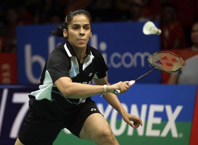 Saina Nehwal (Hyderabad Hotshots) Vs PC Thulasi (Mumbai Masters)