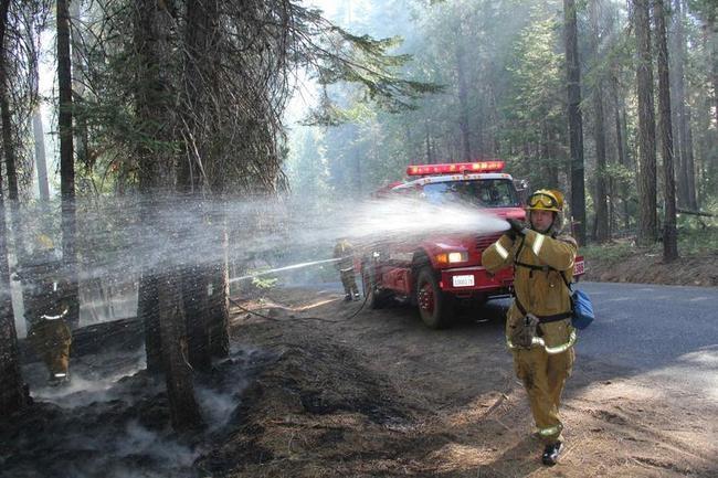 Raging Wildfire in California