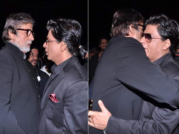 Amitabh Bachchan & Shah Rukh Khan: After Salman Khan, SRK found solace in Amitabh Bachchan's arms! :-P