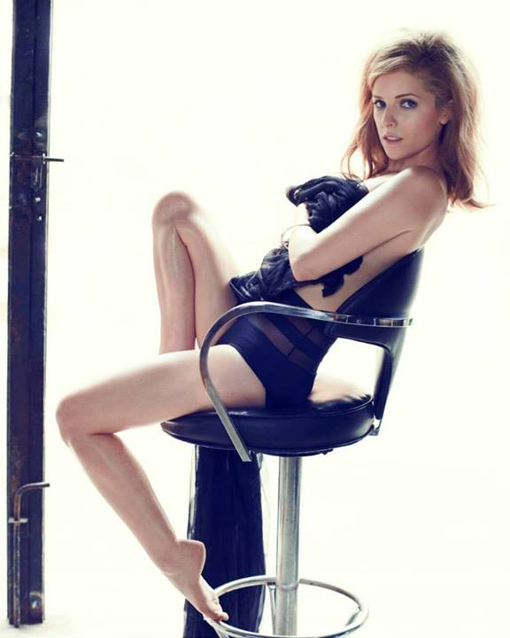 The Drinking Buddies star, Anna Kendrick, bares all for a hot photoshoot for the September issue of GQ.