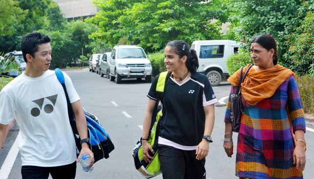 Saina Nehwal and Taufik Hidayat