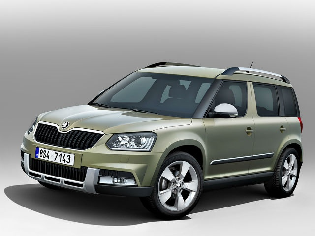 Skoda has given its Yeti crossover a makeover to be unveiled globally at the 2013 Frankfurt Motor Show, Germany, in September