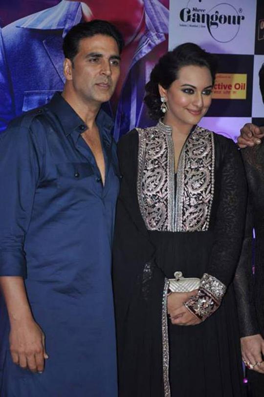 Akshay Kumar, Sonakshi Sinha at Ekta Kapoor