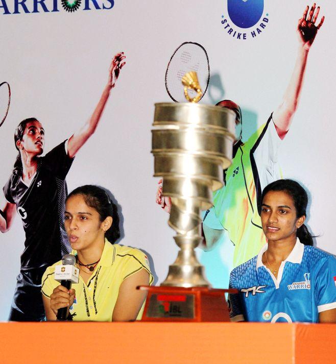 Saina Nehwal and P. V. Sindhu