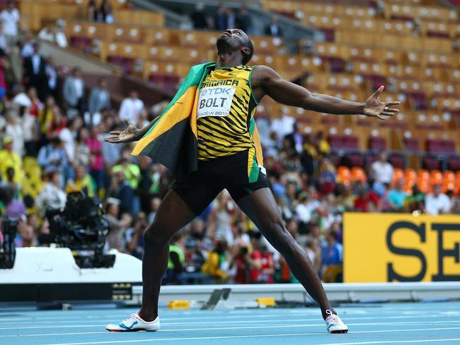 Usain Bolt Wins World 200m Title