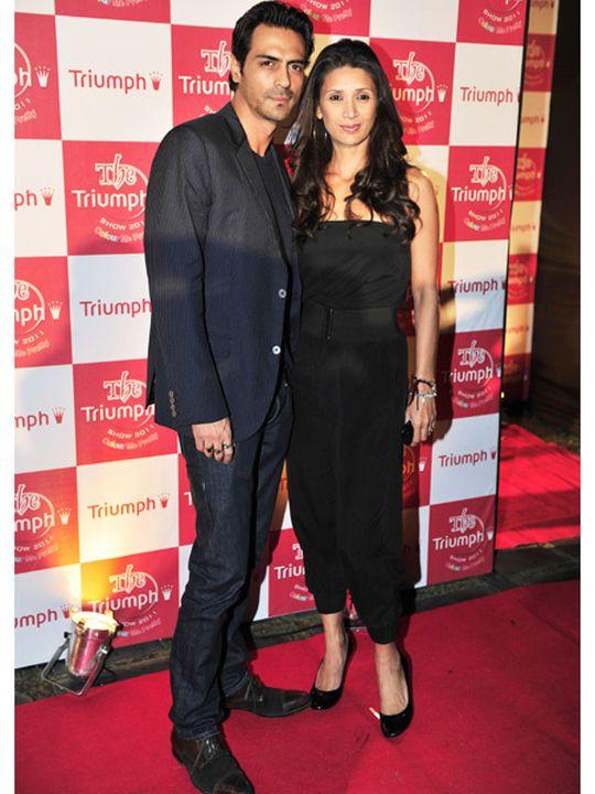 Arjun Rampal & Mehr Jessia
