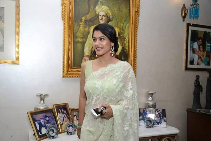 Kajol at Zarine Khan