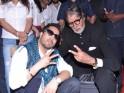 Mika Singh & Amitabh Bachchan