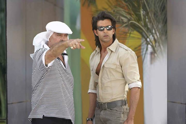 Hrithik Roshan's upcoming superhero sci-fi, Krrish 3, is produced and directed by his dad, Rakesh Roshan.