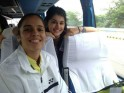 Saina Nehwal with Taapsee Pannu