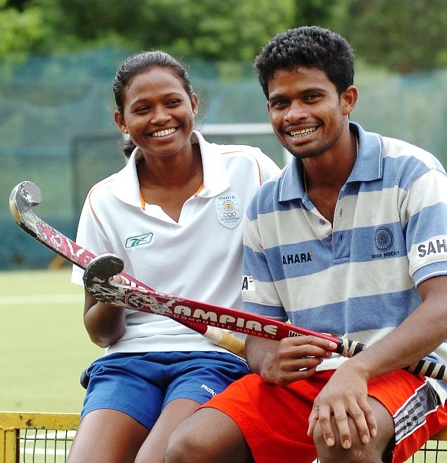 Bimal and Ansuta Lakra