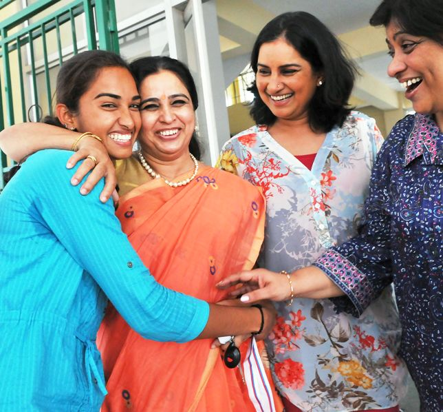 Ponamma, Jamuna Belliappa Anoop, Gayatri Shetty and Soumya Suwarna