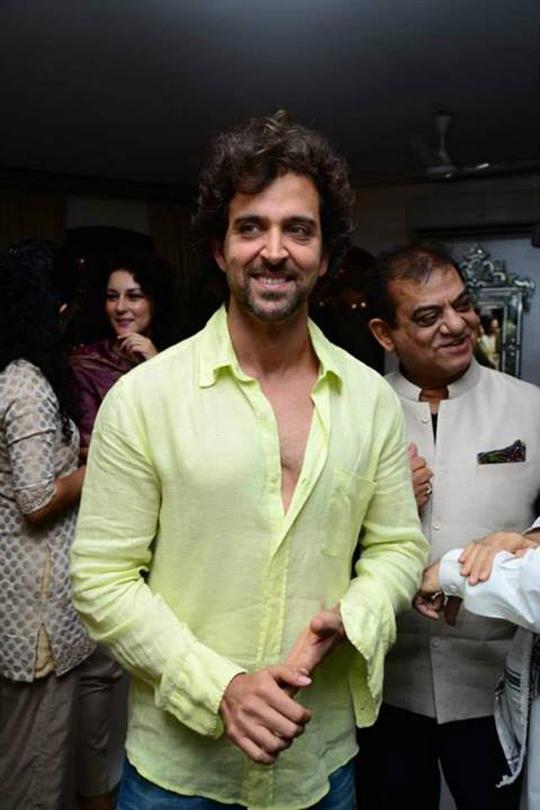 Hrithik Roshan at Zarine Khan