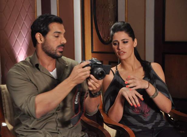 John Abraham and Nargis Fakhri