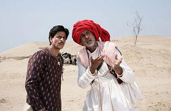 Amitabh Bachchan in 'Paheli'