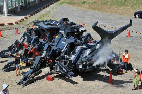 Beetle-Shaped Robot