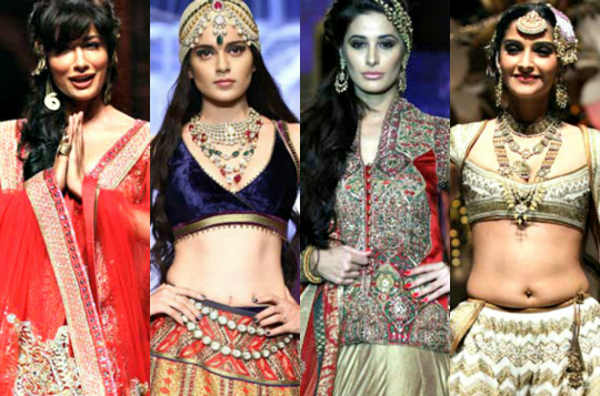 The Indian Bridal Fashion Week 2013 ended on a high note, and if you missed it, don't worry. We have the best moments from the event.