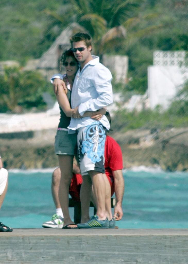 Jennifer Aniston And Brad Pitt 2013 Friendship Day:...