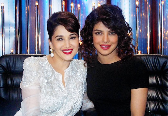 Priyanka Chopra shot for a special episode of Jhalak Dikhhla Jaa in Mumbai
