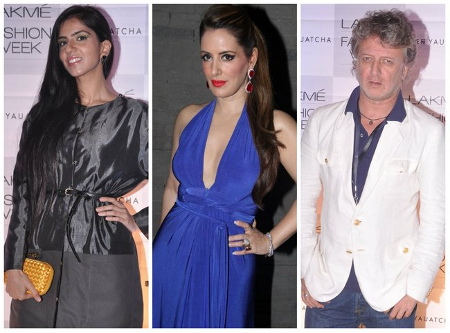 Designers and models attended the midweek Lakme Fashion Week success party at Yauatcha in Mumbai.