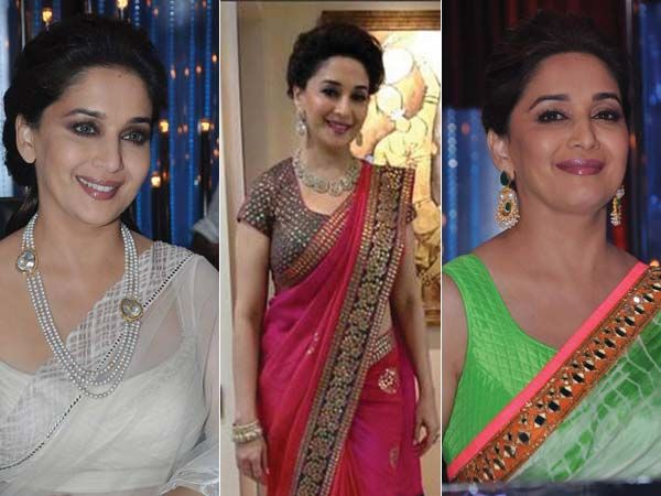 Dance, drama and music aside, we all know the real reason we watch a certail reality show. And yes, we're talking about the ageless Madhuri Dixit Nene. Today, we take you through her wardrobe, one covetable piece of couture at a time.