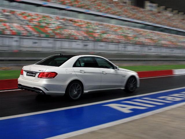 Mercedes-Benz E63 AMG Launch