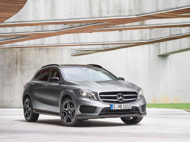 The New Mercedes-Benz GLA
