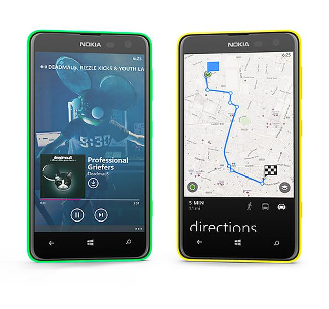 A See-Through Phone?The colourful shels of Nokia Lumia 625 are semi-transparent giving the phone a see-through feel.
