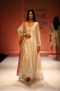 "August 2013: Rahul Mishra known as ""Master of Reversible Chic"" launched his   fabulously crafted Handloom Couture collection called ""Sunehri"" at Lakmé Fashion Week   ""Sunehri"" which means Gold or 'Just like Gold' was a festive bridal wear"