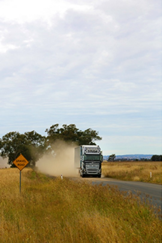 The Volvo FH16, Volvo's new truck for heavy long-haul operations, has been tested in the toughest of all environments: Australia. Source: Volvo Group