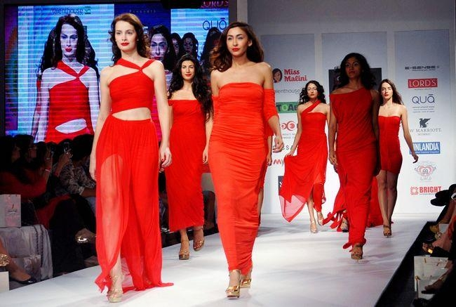 India Resort Wear Fashion Week 2013