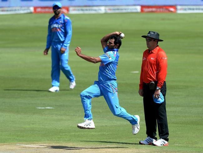 Mohammed Shami Picked Up three wickets