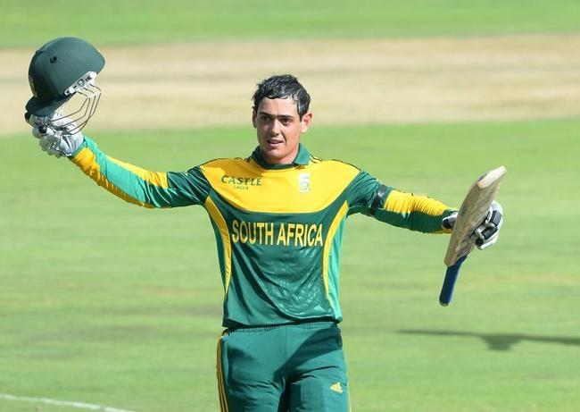 Fifth batsman to hit three consecutive ODI tons