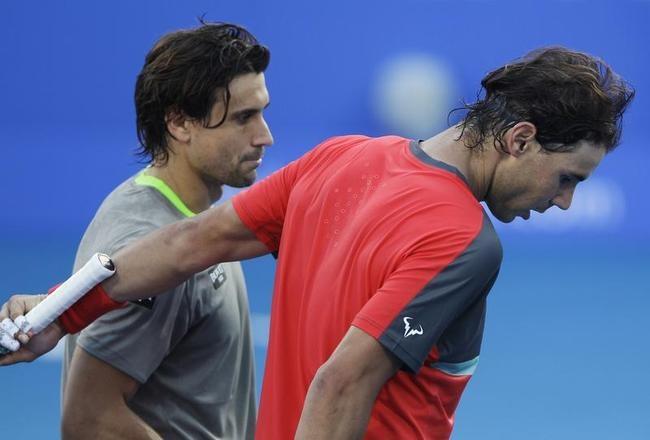 David Ferrer beat Rafael Nadal