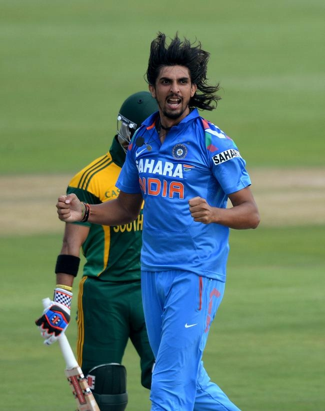 Ishant Picked Up JP Duminy in the same over