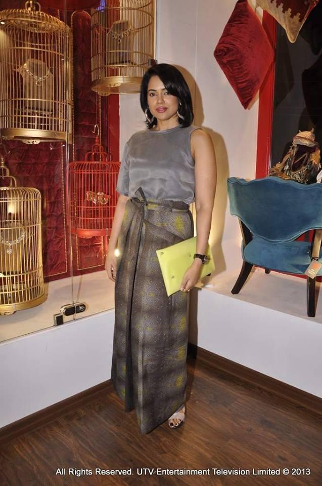 The graceful Sameera Reddy goes grey