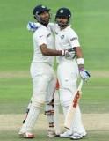 India 284/2; Pujara 135*, Kohli 77*