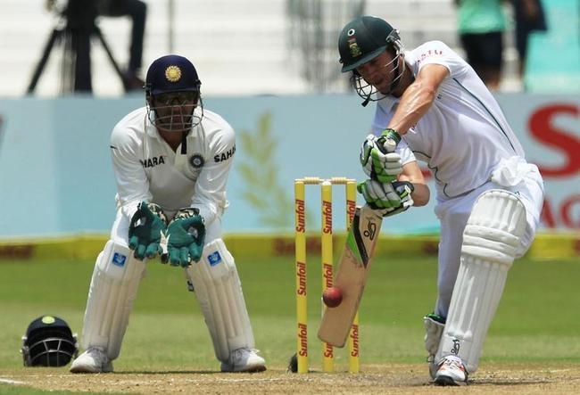 AB de Villiers looked positive