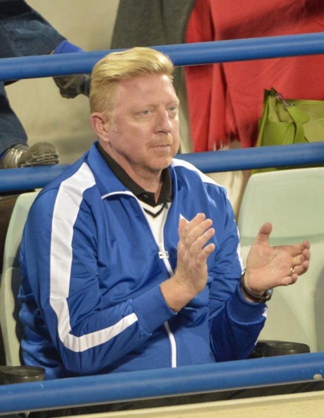 Djokovic's new coach - Boris Becker