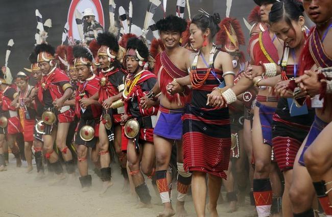 Vibrant Hornbill Festival of Nagaland
