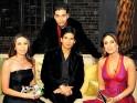 Karisma Kapoor, Kareena Kapoor, Shahid Kapoor, Karan Johar