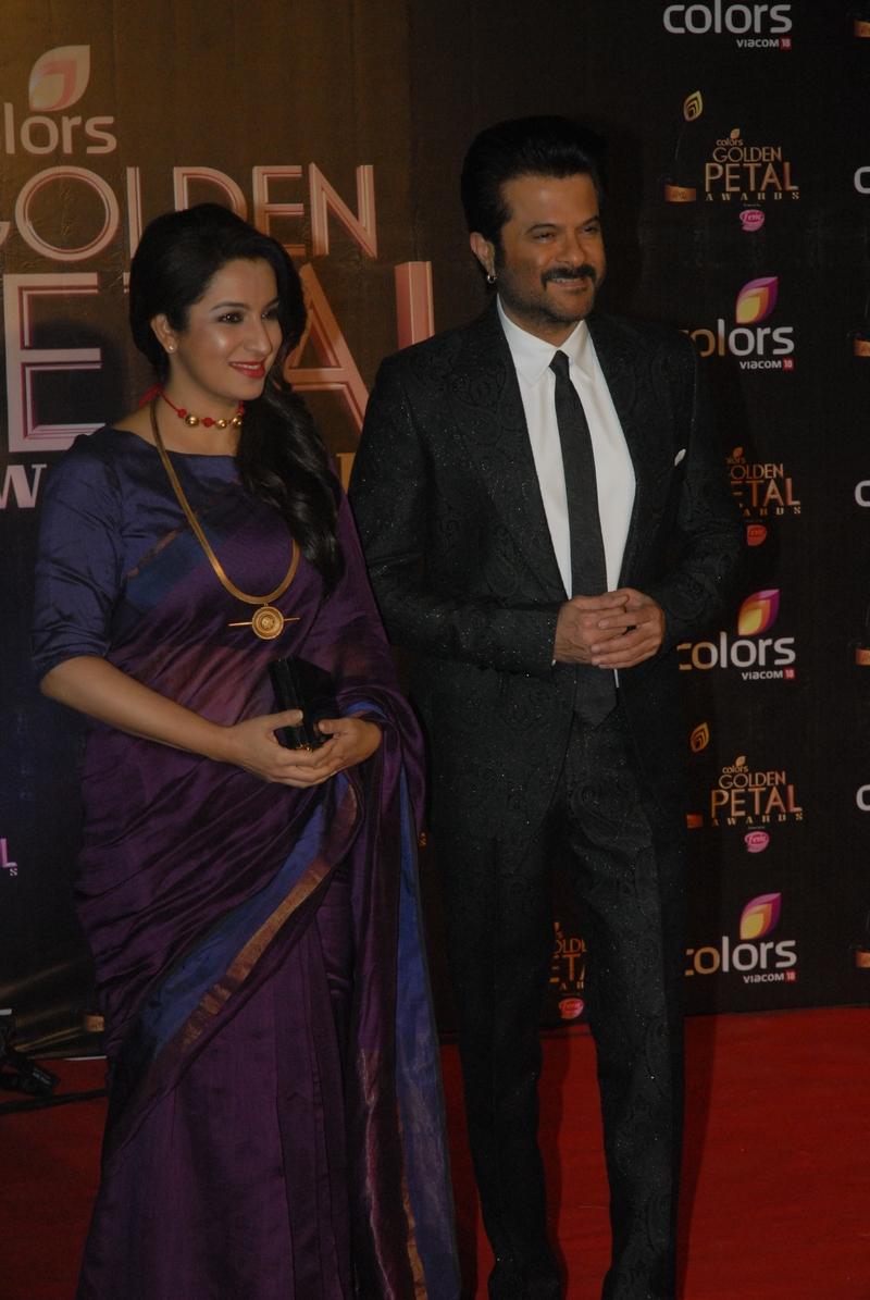 Anil Kapoor and Tisca Chopra