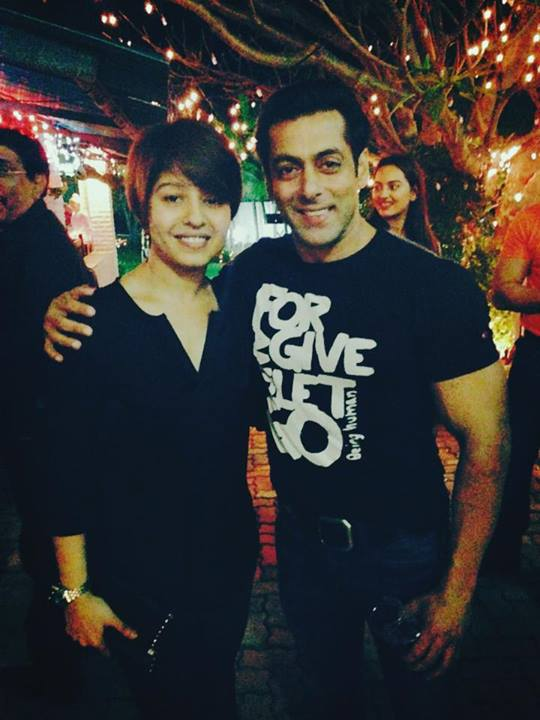 Salman Khan and Sunidhi Chauhan