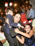 Karisma Kapoor and kids