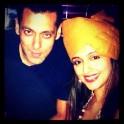 Salman Khan with Aarti Chhabria