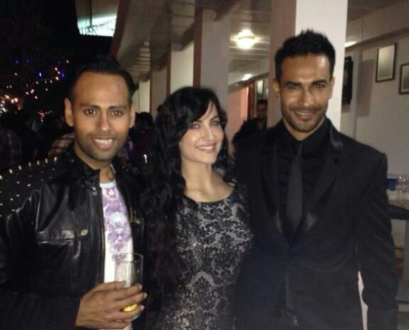 VJ Andy, Elli Avram and Asif Azim
